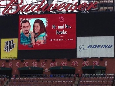 busch stadium wedding